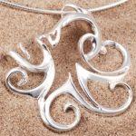 Sterling Silver Octopus Pendant - £48.71 : Scubatogs