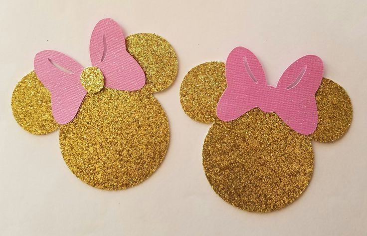 Minnie Mouse, Minnie Mouse Gold & pink, Minnie Mouse decorations, party decorations, Minnie Mouse cake toppers, straws, confetti by iLoveLizsBoutique on Etsy https://www.etsy.com/listing/448791026/minnie-mouse-minnie-mouse-gold-pink