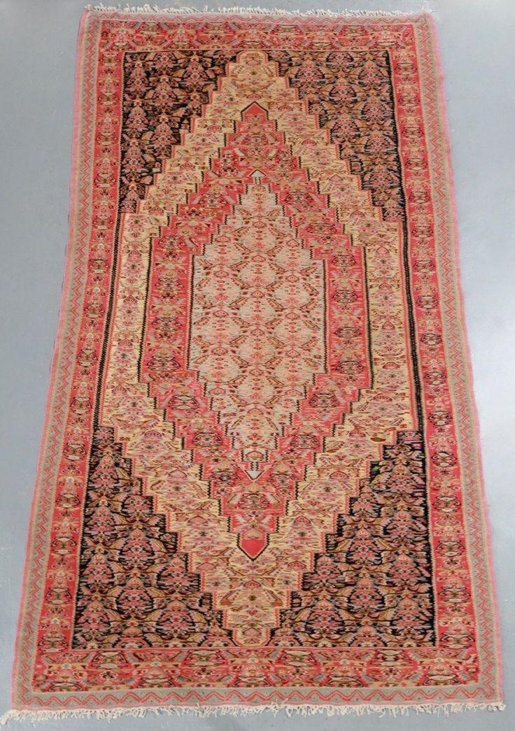 Senneh Persian Kilim (Ref 158) 257x144cm - PersianRugs.com.au