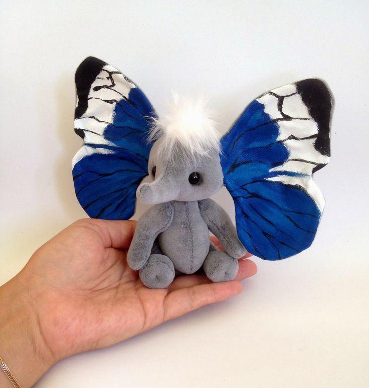 Симпатычная слоно-бабочка)) Или наоборот...