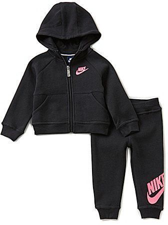 Nike Baby Girls 12-24 Months Hoodie and Pants Set  a49114d6a4