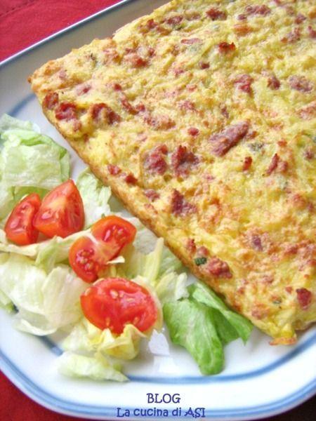 Rosti di patate a modo mio un classico della cucina tedesca che ho preparato secondo i miei gusti con salsiccia cipolla ed altro ...gustosissimo!