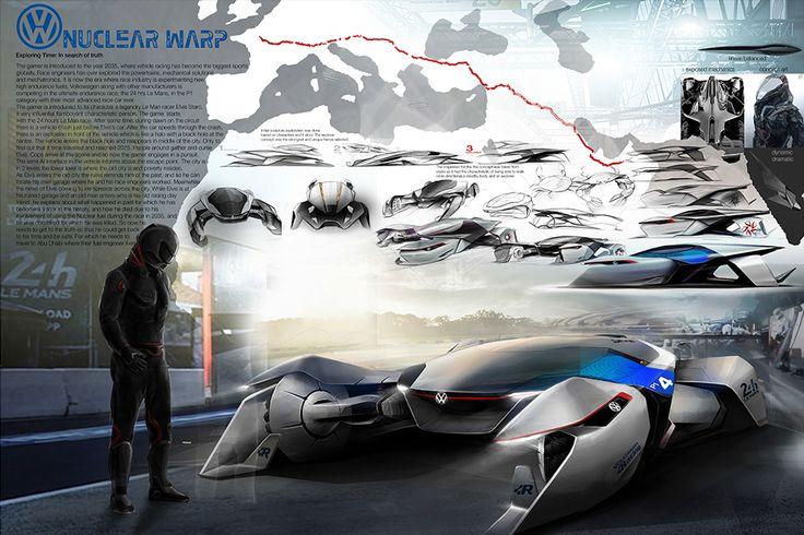 Volkswagen Design Contest | NUCLEAR WARP