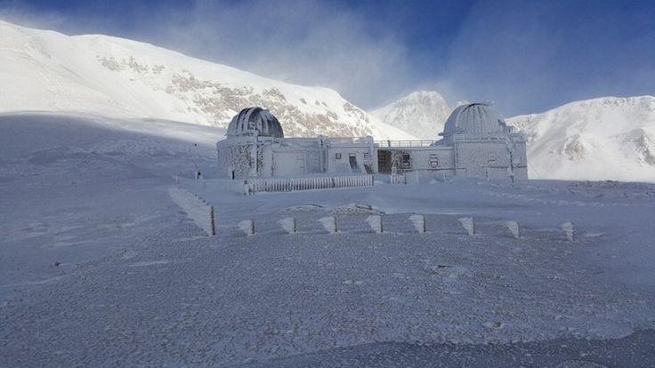 Campo Imperatore, troppo freddo: ghiaccia anche l'Osservatorio astronomico