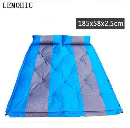 barbecue camping equipment matelas gonflable tent mat High quality sleeping picnic blanket beach mat yoga pad air inflatable