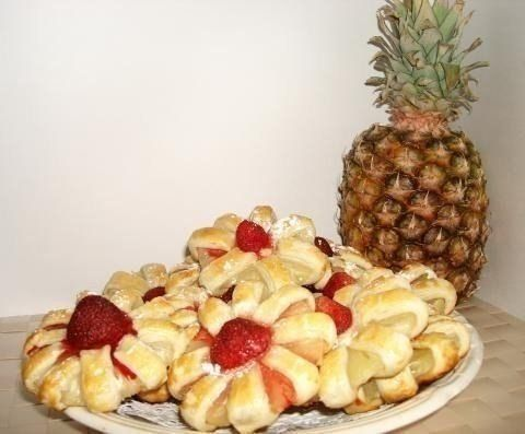 Culinary Notebook | Cookies with pineapple | http://recipessea.com