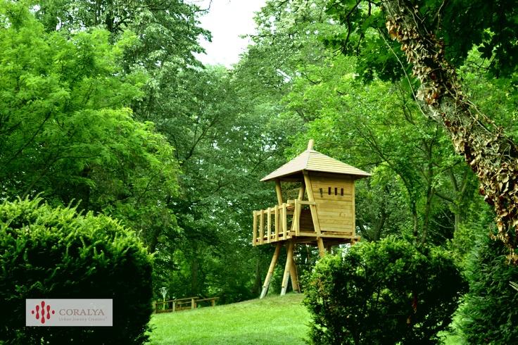 Parcul Copiilor din Timisoara. Casuta din copac