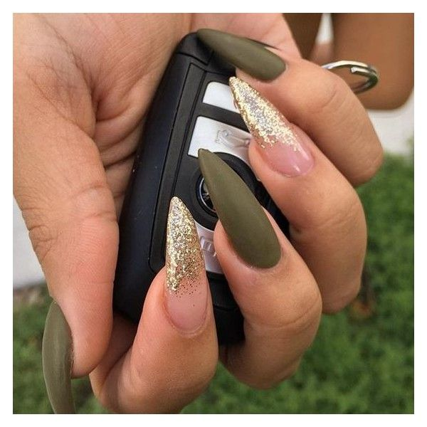 The 25 best stiletto nail designs ideas on pinterest stiletto stiletto nails liked on polyvore featuring beauty products and nail care prinsesfo Images