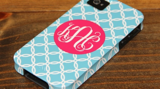 personalized iPhone/iPad/Kindle case.  LOVE!!