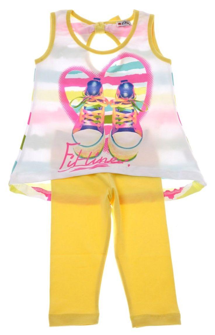 Εβίτα παιδικό σετ μπλούζα-παντελόνι κολάν «Fit Line»  €12,50