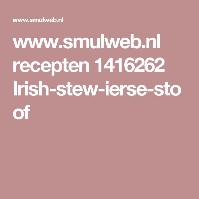 www.smulweb.nl recepten 1416262 Irish-stew-ierse-stoof