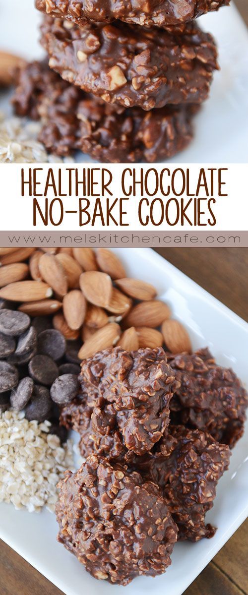 When a quick, chocolatey cookie is in order this healthier spin on the classic no-bake is the perfect option!