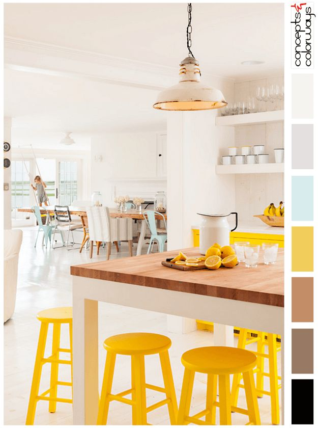 SUNNY LIVING. Color SchemesColor CombosInterior ...