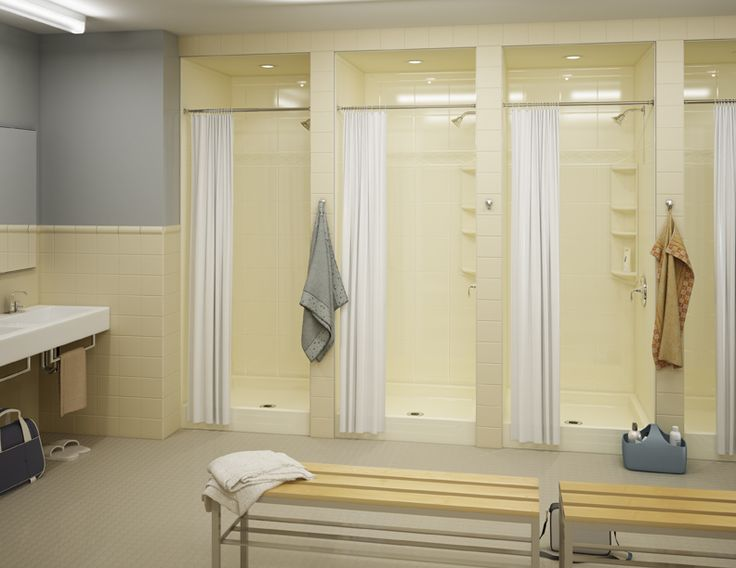 Bath Fitter Also Does Commercial Installations Like Dormitory Bathrooms Locker Rooms Or Hotels
