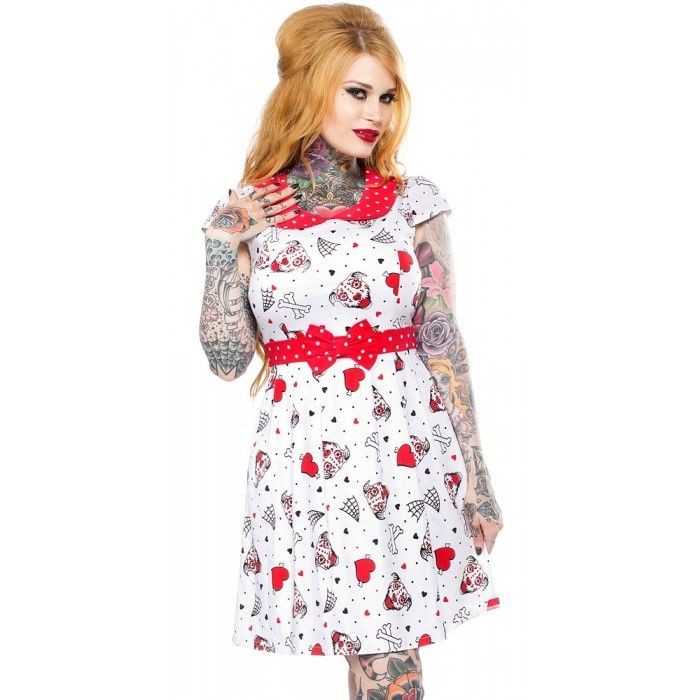 Sourpuss - Pit Bulls Lizzie Dress #sourpuss #sourpussclothing
