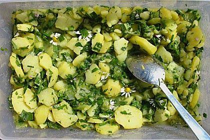 Kartoffelsalat mit Gänseblümchen und Löwenzahn, ein beliebtes Rezept aus der Kategorie Gemüse. Bewertungen: 1. Durchschnitt: Ø 3,0.
