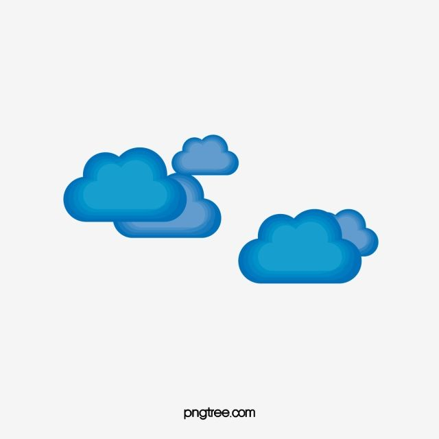 Clouds Vector Blue Clouds Vector Png And Vector With Transparent Background For Free Download Cloud Vector Cloud Vector Png Background Banner