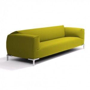 Of een groene bank? Nederlands merk Bert Plantagie maakt goede en mooie meubels. http://www.kantoorinrichters.nl/banken-en-fauteuils