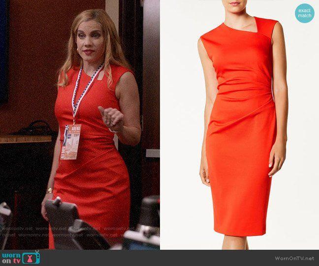 Asymmetric Neckline Dress Karen Millen Dresses Fashion Outfits