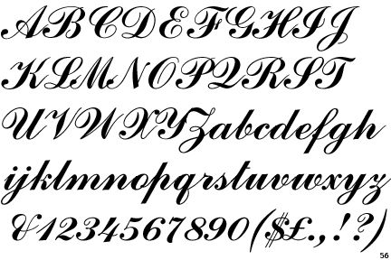 Copperplate script font home gt handmade gt handwriting for House lettering script