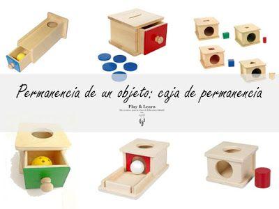 Play & Learn: Permanencia de un objeto: caja de permanencia - Ma...