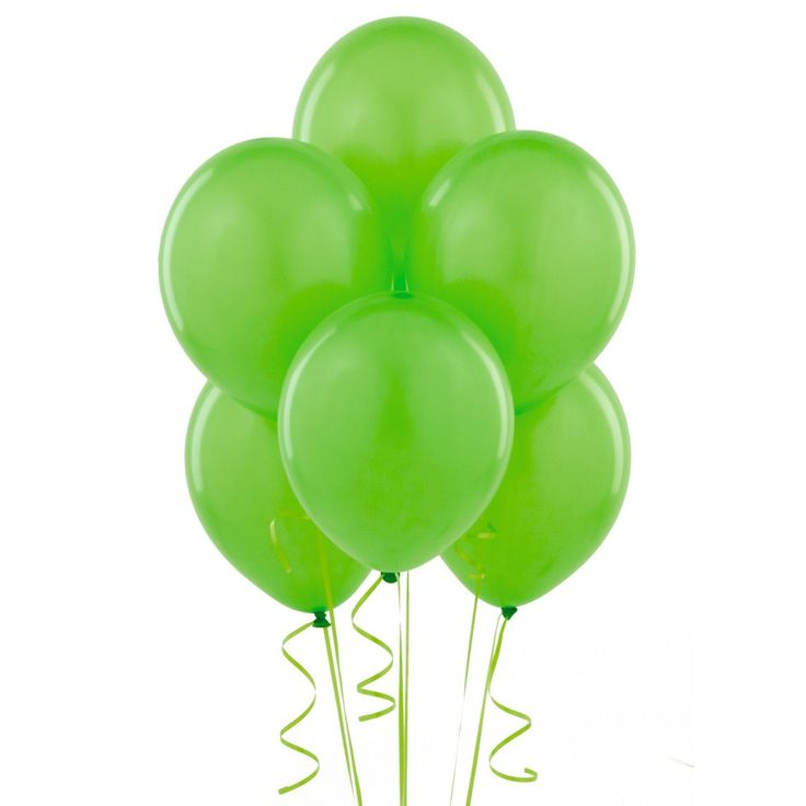 144 Lime Green Balloons latex helium quality - Go Party Fiesta