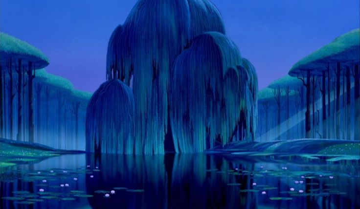The Grandmother Willow from Pocahontas