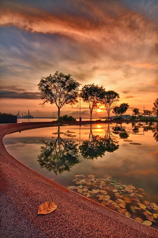 May Day Sunrise, Singapore, by Ray Alvin (photography, photo, picture, image, beautiful, amazing, travel, world, places, nature, landscape)