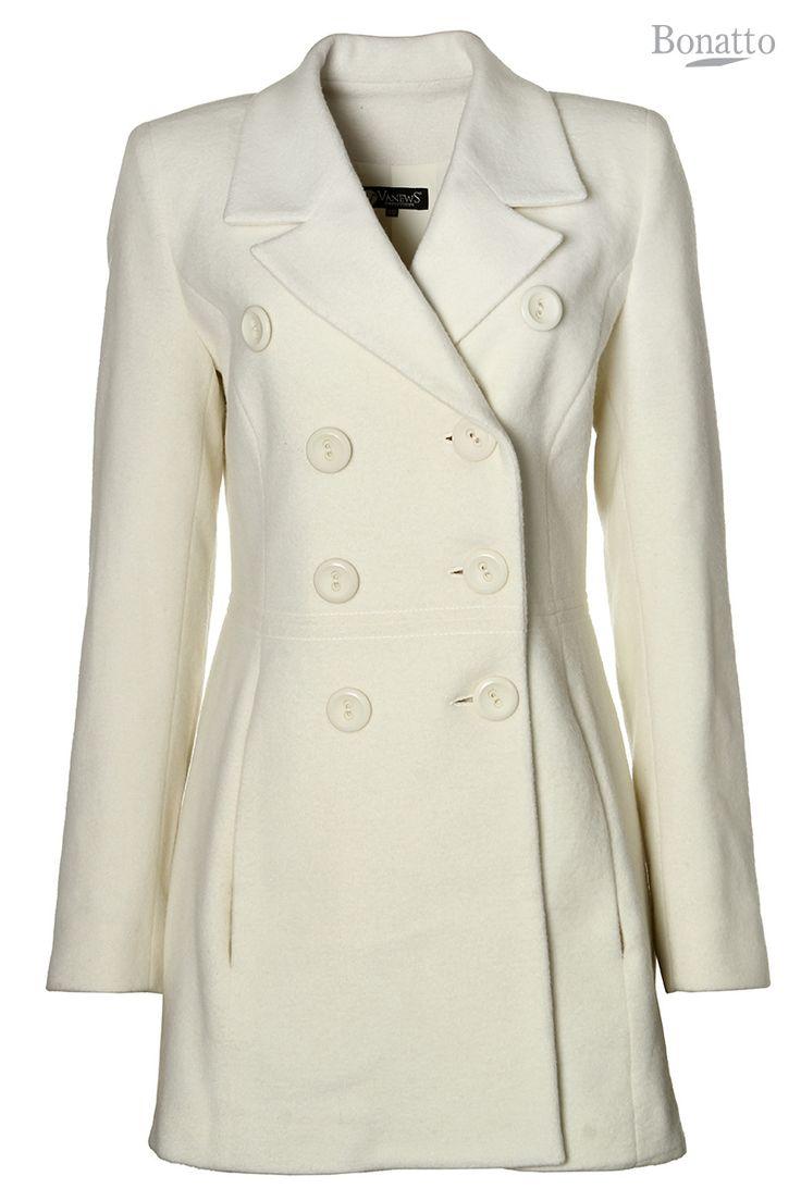 Casaco de lã  REF:2442400                                                                                                                          De:R$ 599,00 Por:R$ 399,00