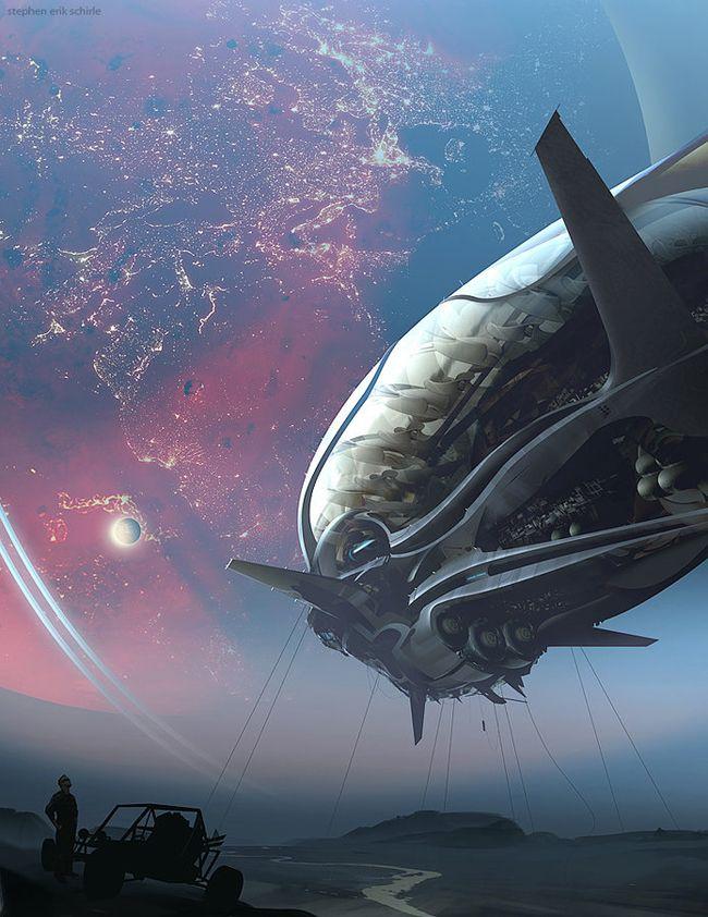 "brighter-suns: ""Stargazer 2 by Stephen Shirle """