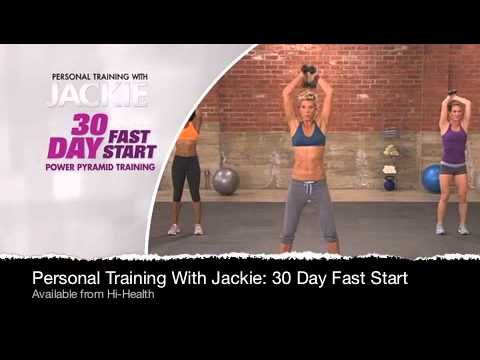 Jackie Warner 30 Day Fast Start DVD Introduction Video:  Now you can experience the best of Jackie's personal training at home with her 30 Day Fast Start. Get a FAST START and transform your body from head to toe using Jackie's secret Power Pyramid Training method pulled straight from the programs she uses with celebrity clients.