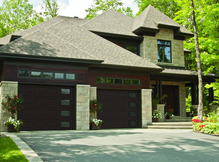 Garage Door Model : Standard + Classic Right Harmony, Moka Brown. Get A FREE