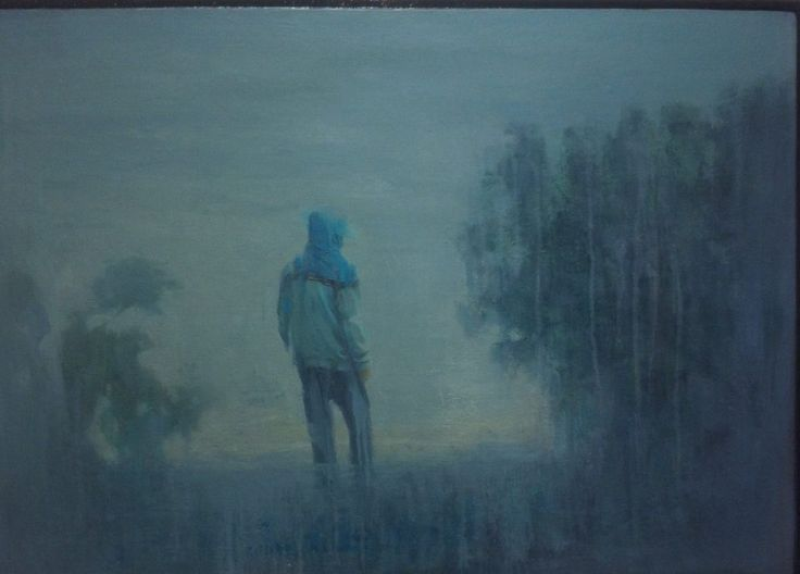 #IranianPainters Untitled By Mosayeb Zare 2017 Style: Realism Genre: Landscape Medium: Oil on Canvas Dimensions: 50*70 cm Location: 'What Dreams May Come' Group Exhibition, Hepta Art Gallery, Tehran, Iran CopyRight: Fair Use بدون عنوان از مسيب زارع 1396 سبك: واقع گرايي ژانر: منظره طبيعي تكنيك: رنگ روغن روي بوم اندازه اثر: ٧٠*٥٠ سانتيمتر محل نگهداري اثر: نمايشگاه گروهي 'روياهايي كه مي آيند'، نگارخانه هپتا، تهران ، ايران حق تكثير: استفاده منصفانه