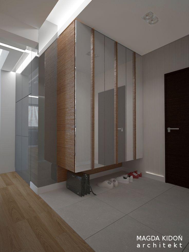 Pomysłowa szafa w przedpokoju mieszkania