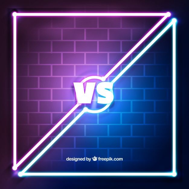 Download Versus Background With Neon Lights And Wall For Free Neon Neon Wallpaper Free Animated Icons