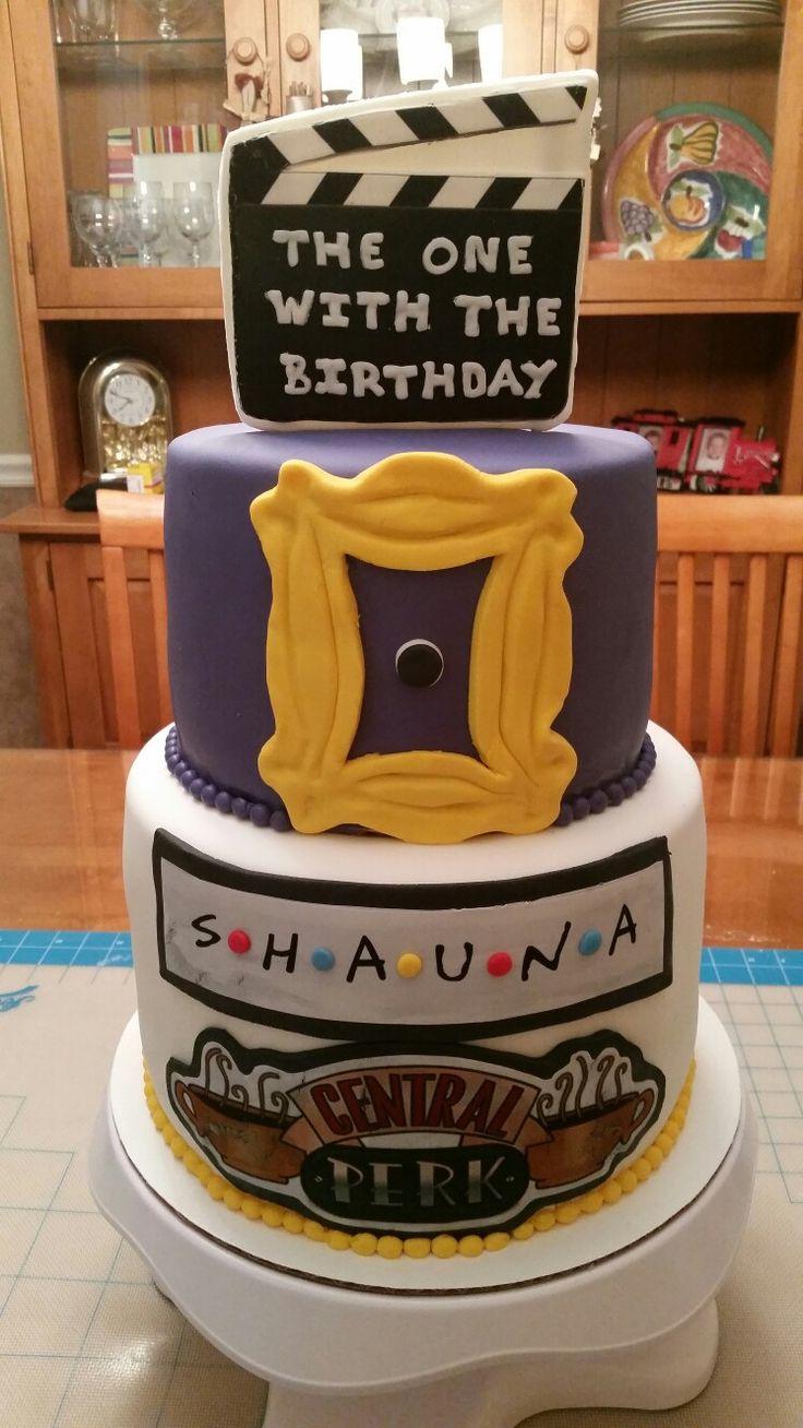 """""""Friends"""" TV Show Cake"""