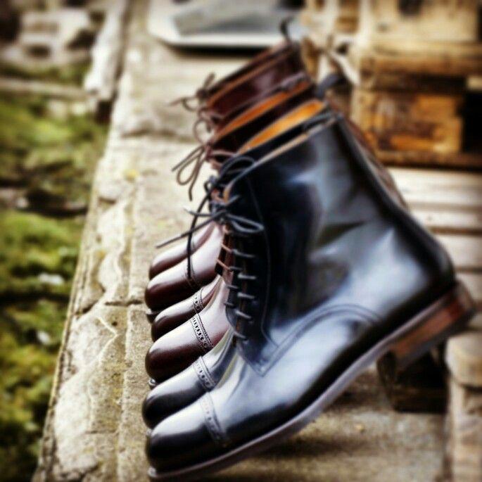 #yanko #cordovan #boots #trzewiki #buty #butyklasyczne #obuwie #shoes