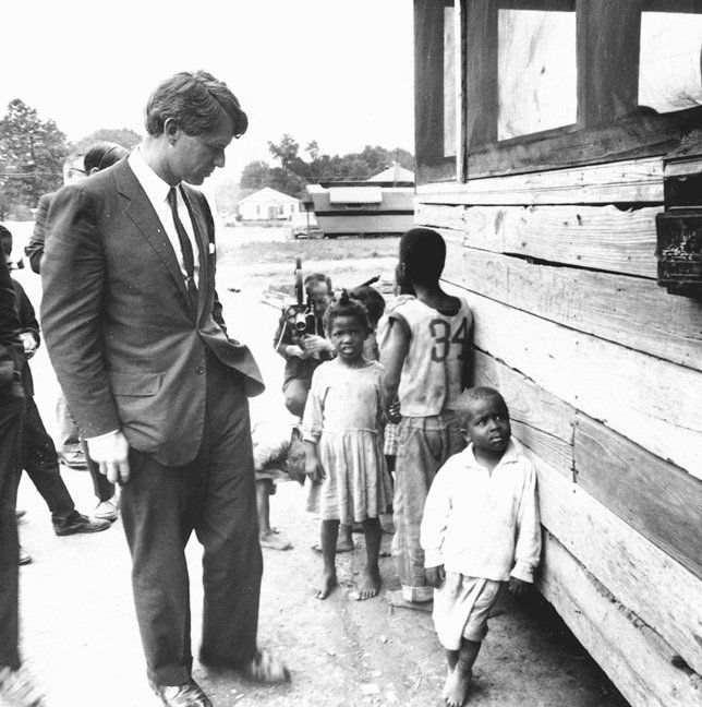 Robert Kennedy and appalachian children