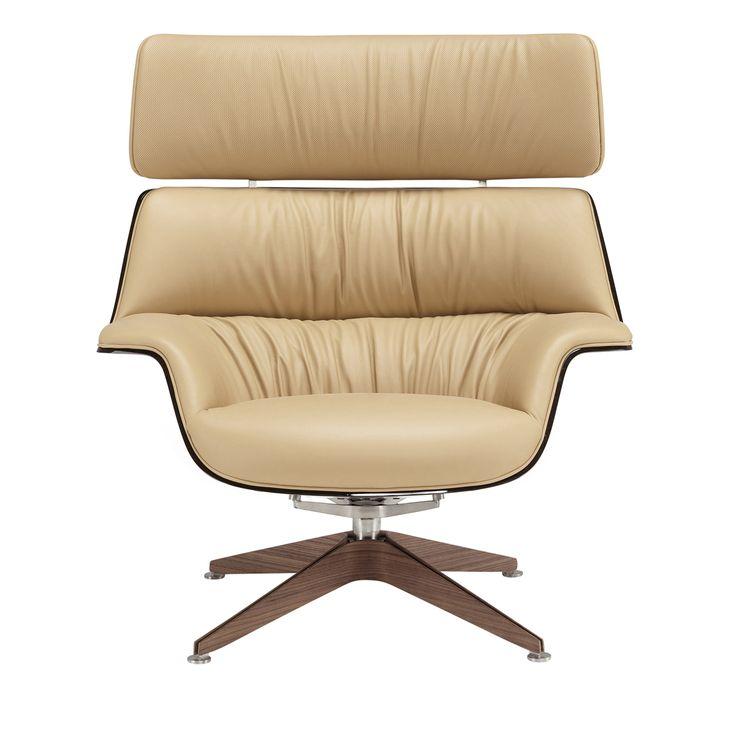 Coach Light Brown Leather Armchair - Shop Saintluc online at Artemest