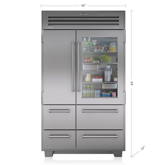WOW!!!!     PRO 48 Full Size Refrigeration   648PROG   Sub-Zero & Wolf
