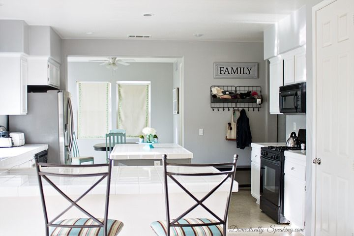 How to Paint Your Kitchen Cabinets - the ultimate diy guide to update your cabinets with paint.