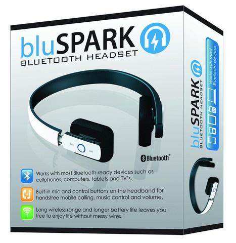 Triple C Designs BluSPARK Bluetooth Headset