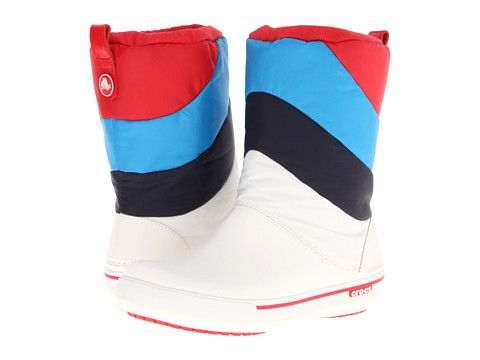 i wouldn't think that i would go for crocs, but these snow boots are kind of awesome.