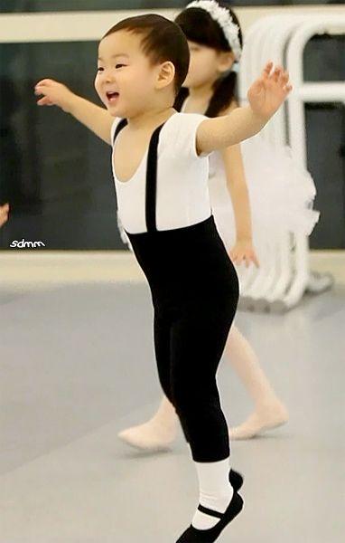 Ballerina Minguk | The Return of Superman