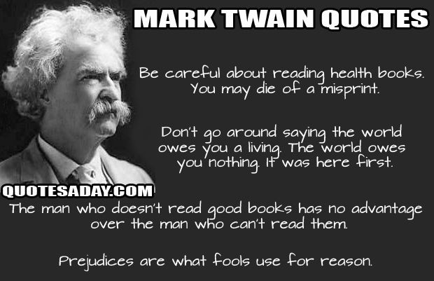 Best Quotes (20 Pics) (With images) Mark twain quotes