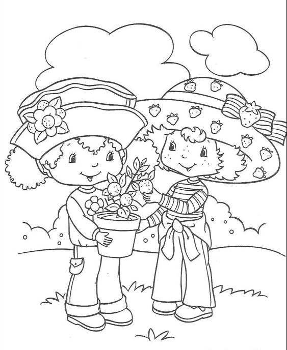 iced teas coloring pages - photo#12