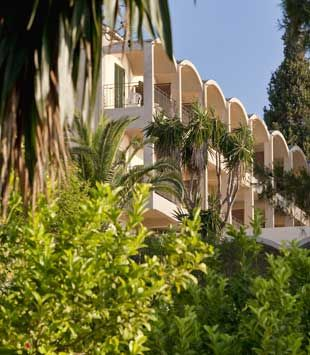 On the emerald Isle of Corfu, there is the 4-Star Aeolos Beach Resort which is fantastic for families and couples.