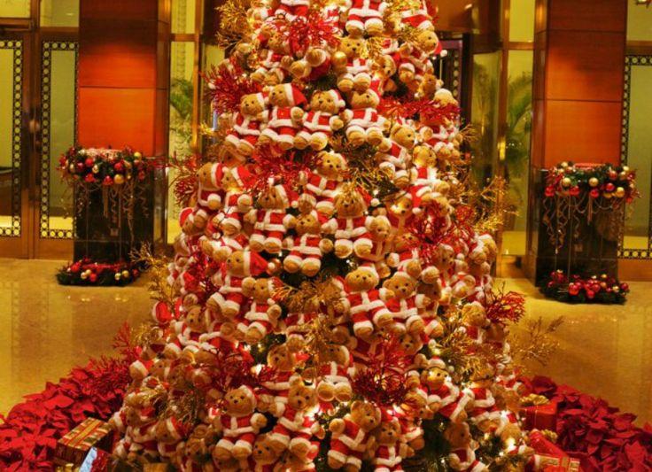 53 best A Teddy Bear Christmas images on Pinterest  Teddy bears