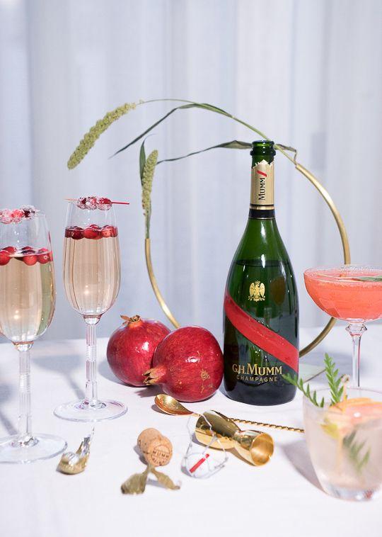 Gastronomista: Cocktail Friendsgiving with G.H. Mumm Champagne #partner