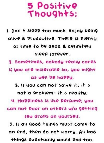 5 POSITIVE THOUGHTS: Remember, Thinking Positive, Stuff, Quotes, Thoughts Inspirationalword, Happy, Motivation, Positive Thoughts, Living